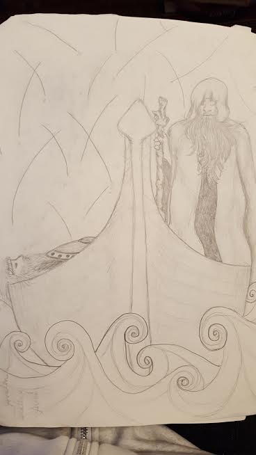 death-of-arthur-in-pencil